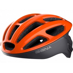 SENA R1 - Smart Cycling Helmet - ELECTRIC TANGERINE