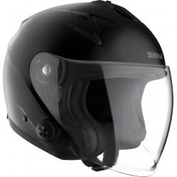 SENA - ECONO - Smart Motorrad-Jethelm (ECE) - schwarz matt