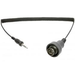 SM10 - 3.5mm Stereokabel zu 7-Pin DIN Stecker