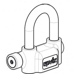 KOVIX - KPTZ16 - Alarm-Vorhängeschloss