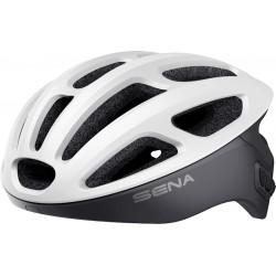 SENA R1 EVO - Smart Cycling Helmet - MATT WHITE