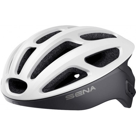 SENA R1 EVO - Smart Cycling Helmet - MATT WHITE
