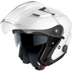 SENA - OUTSTAR - Smart Motorrad-Jethelm (ECE) - weiss glänzend