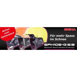 SPH10S - Bluetooth Headset für Smith®-Helme