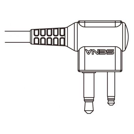 SR10 - Verbindungskabel zu MOTOROLA TWIN-PIN