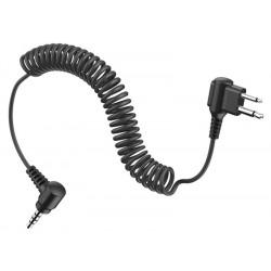 TUFFTALK - Anschlusskabel für PMR-Funkgeräte (Motorola Twin-Pin)