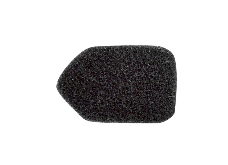 Klettverschluss für Bügel–Mikrofon