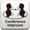 Mehrweg-Gegensprechanlage (Intercom) mit bis zu 2 Kilometer Reichweite