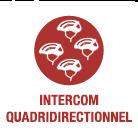 SENA X1 - 4-Wege-Intercom