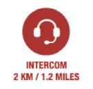 Intercom 2km