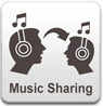 Gemeinsam die gleiche Musik hören