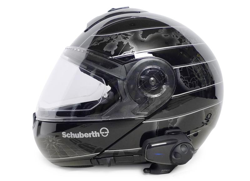 SMH10 montiert an einem Schuberth C3
