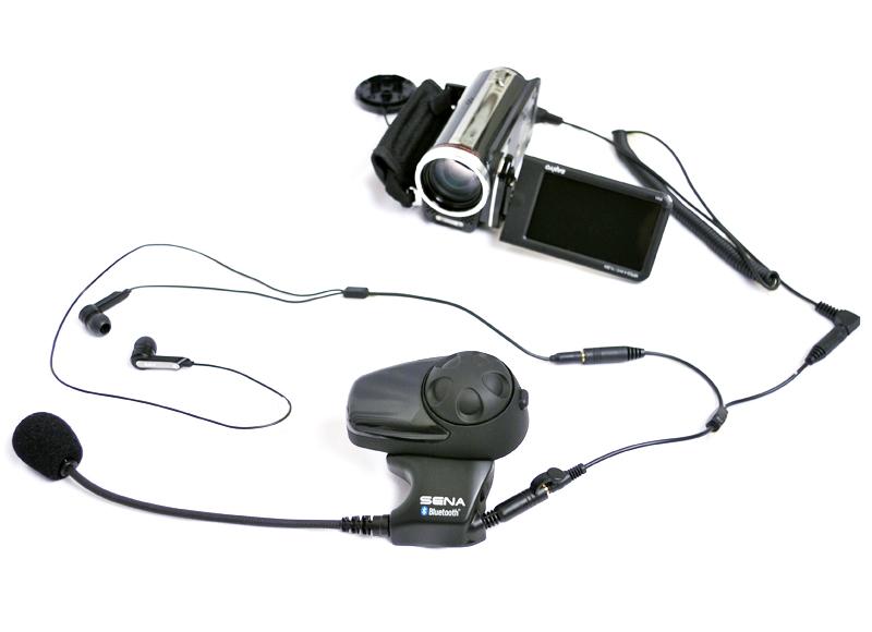 SMH10 mit angschlossener Digital-Videokamera