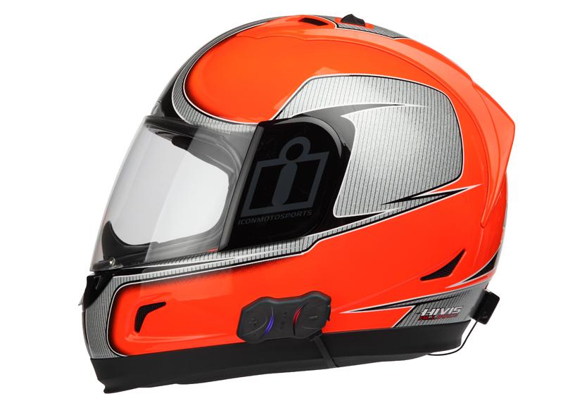 SMH10R montiert an Alliance 2 Helm