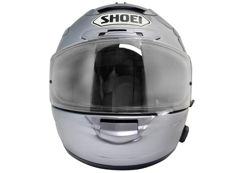 SMH10R montiert an Shoei X-12