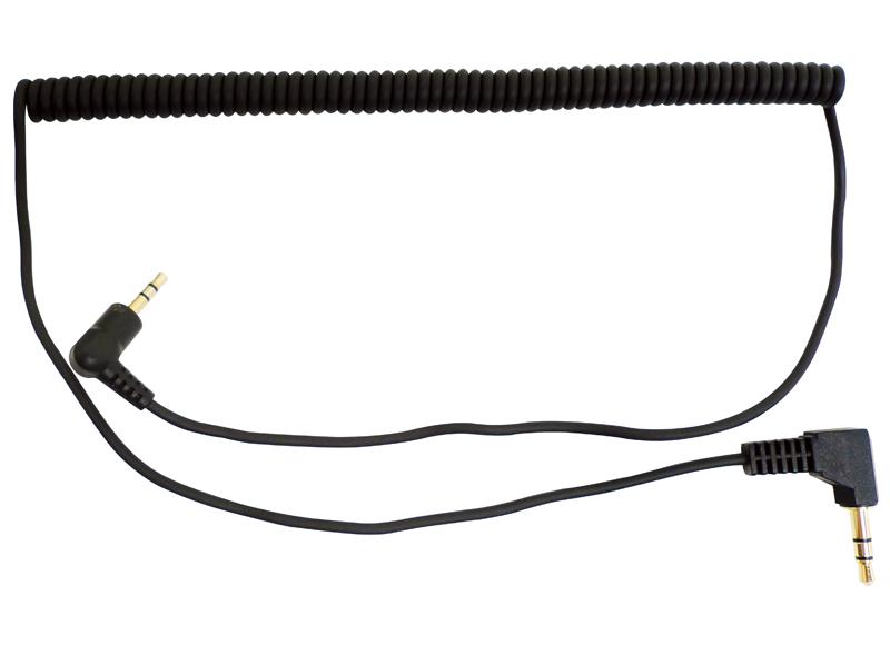 Stereo Audiokabel mit 2.5 zu 3.5 mm Stecker