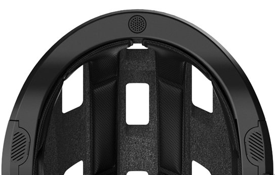 SENA X1 - Helmunterseite