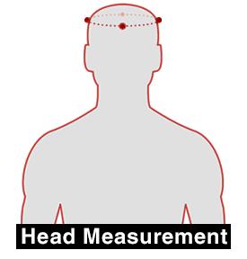 SENA X1 - Kopf vermessen