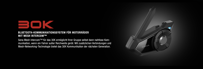 Motorrad Bluetooth Headset mit kombinierter Mesh- & Bluetooth-Technologie
